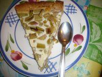 tarte à la rhubarbe à l'ancienne