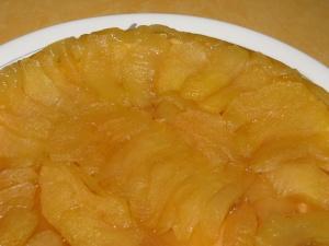 recette de la tarte tatin en photos