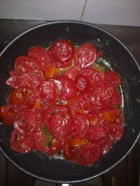 Purée de tomates maison