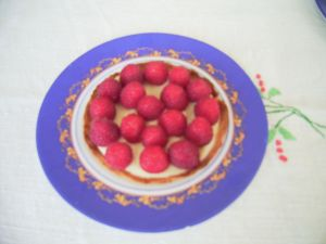 Tartelettes aux framboises