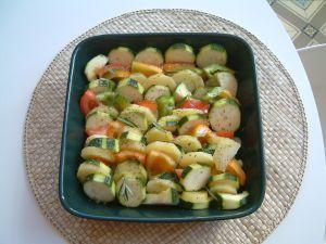 Un plat ensoleillé qui accompagne délicieusement des grillades