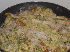 Tortillas de Cornichons crus et Coriandre