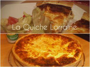 Une véritable Quiche Lorraine